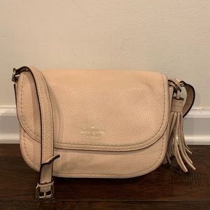 Authentic Kate Spade Leather Crossbody Bag, M (T5)